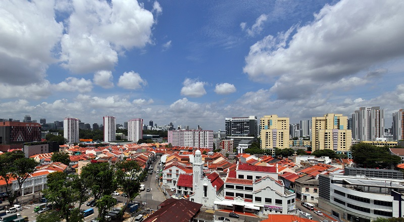 Shophouses in the Little India Conservation Area are highly sought-after by investors. (Picture: Samuel Isaac Chua/The Edge Singapore)