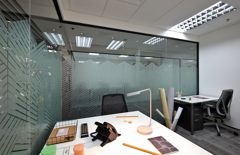 IWG - A typical office suite at Spaces One Raffles Place