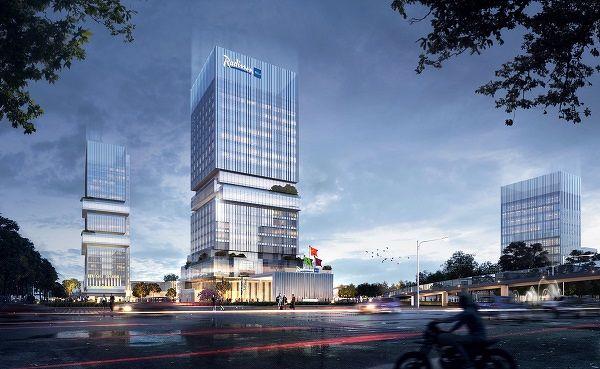 artist's impression of Radisson Blu Hotel Changyuan - EDGEPROP SINGAPORE