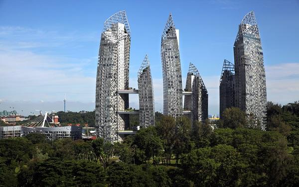 1月10日,吉宝湾映水苑(Reflections)的一套三居室公寓的出售导致卖方损失了$109万(图片来源:Samuel Isaac Chua/The Edge Singapore)