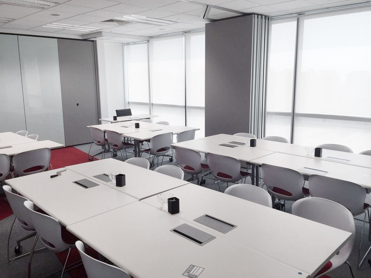 EdgeProp Singapore: The training space comprises two adjacent units with a total floor area of 2,680 sq ft