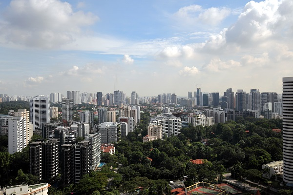 A view towards Stevens and Balmoral. Anecdotally, most agents say many buyers are holding off purchases for the moment. (Picture: Samuel Isaac Chua/The Edge Singapore) - EDGEPROP SINGAPORE