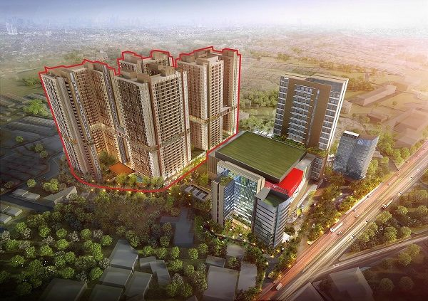 EDGEPROP SINGAPORE -  Residential sales at its two Indonesian projects, such as Trans Park Juanda Bekasi, supported Metro's financial performance in FY2020. (Picture: Metro Holdings) - EDGEPROP SINGAPORE