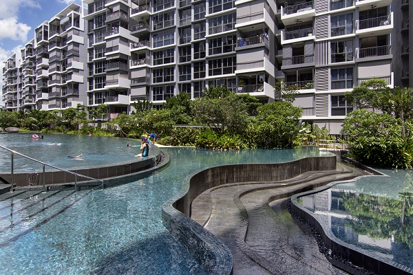 The 632-unit EC was completed in June 2018 and is fully sold. (Picture: Albert Chua/EdgeProp Singapore)