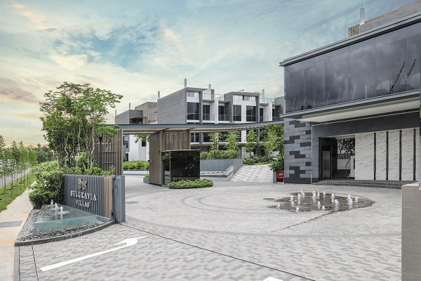 Belgravia Villas, by Tong Eng Group, was completed in 2018 and is fully sold.