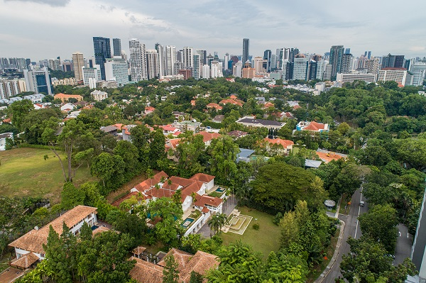 The Nassim Road Good Class Bungalow Area is one of the most exclusive landed residential enclaves in Singapore (Pictures: CBRE)