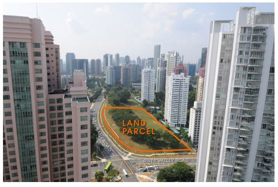 The new residential development could yield up to 445 units (Picture: URA website) - EDGEPROP SINGAPORE