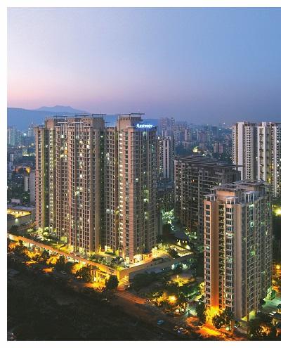 The Urbania township in Mumbai Metropolitan Region in India (Picture: Keppel Land)