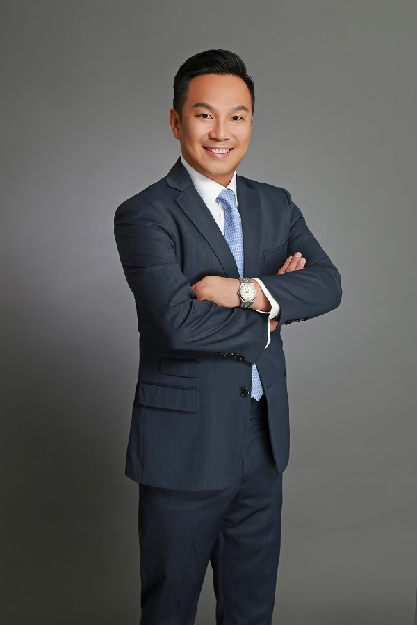 Daniel Ding will head Knight Frank Singapore's investment and capital markets (land, building & global real estate) team (Picture: Knight Frank Singapore)