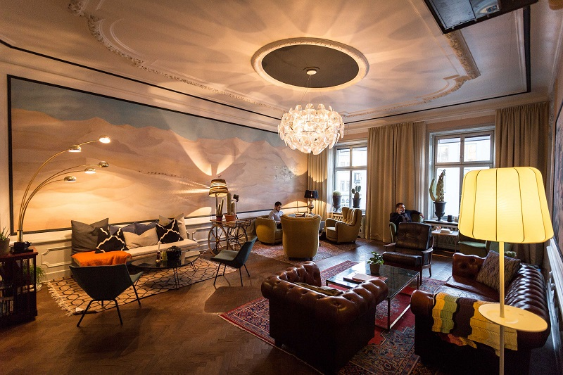 IWG - A No18 business lounge in Stockholm. The luxury flexible workspace brand will open its first location in Singapore next quarter