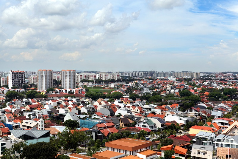 AFFINITY AT SERANGOON - View of Serangoon Gardens towards Kensington Park - EDGEPROP SINGAPORE