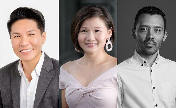Kelvin Teo COO Trixie Thye Regional VP HR Liviu Nedef CMO - EDGEPROP SINGAPORE