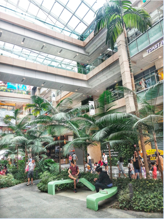 JURONG EAST - Westgate is a large and modern mall with comfortable areas encouraging relaxation