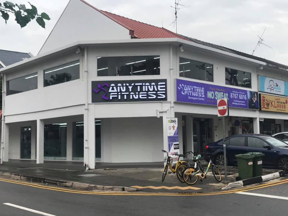 SERANGOON FITNESS GUIDE - Photo credit: Anytime fitness Facebook Page
