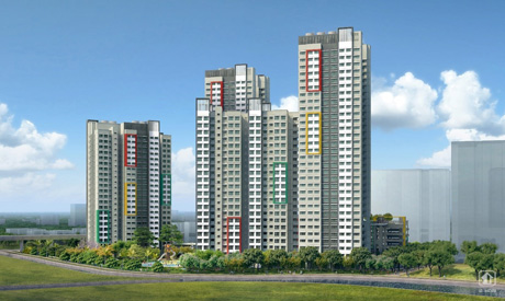 BTO HDB - The typical price of a 4-room flat at Teck Whye View is $295,000