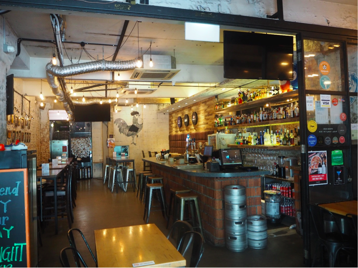 BUKIT MERAH - The charmingly named Coq & Balls bistro and bar