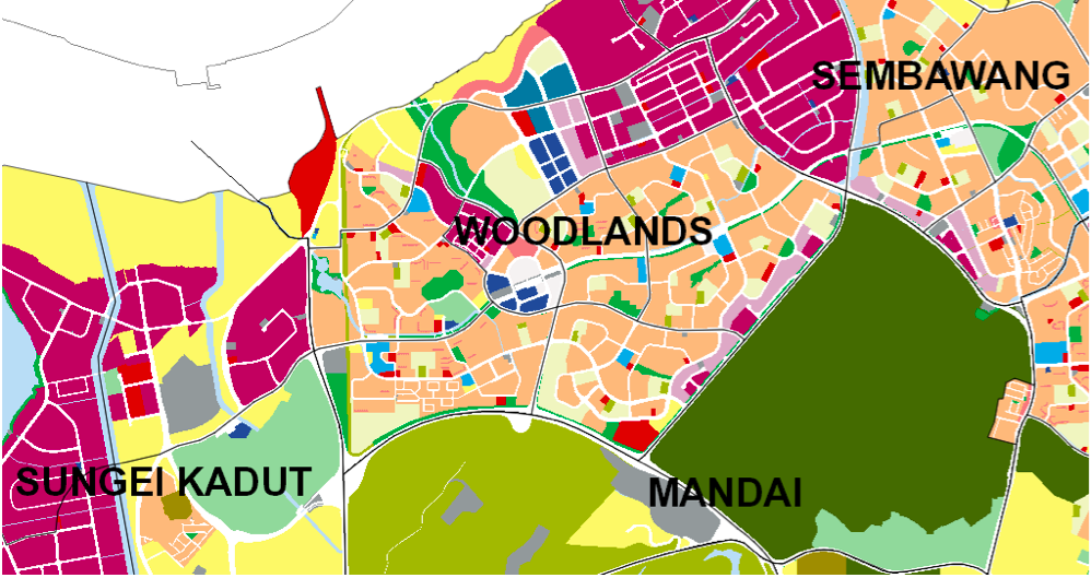 WOODLANDS - Woodlands consists of nine subzones, and is surrounded by Sungei Kadut, forested Mandai, and sea-facing Sembawang. - EDGEPROP SINGAPORE