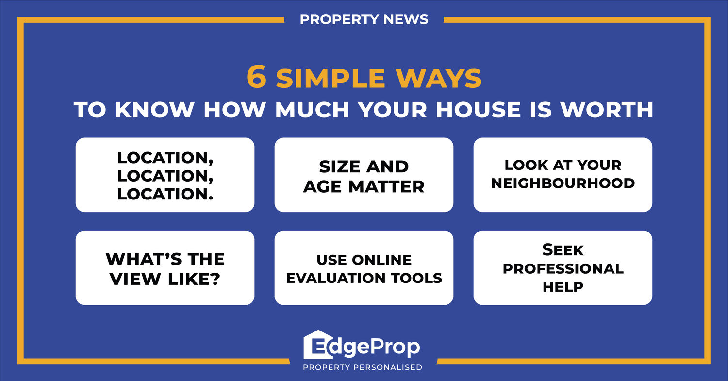 EDGEPROP SINGAPORE - 6 simple ways to know how much your house is worth - EDGEPROP SINGAPORE