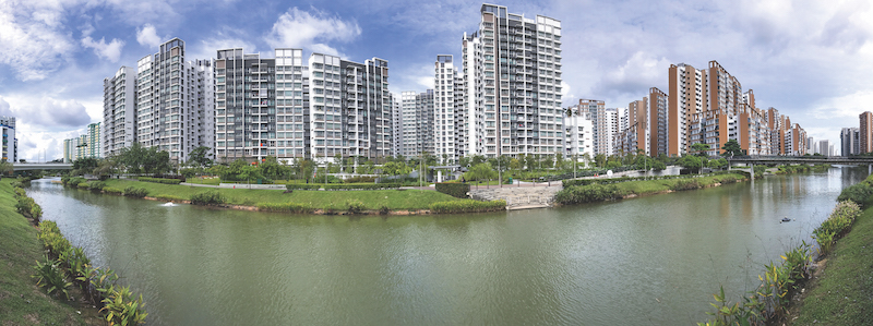 HDB - Two upcoming BTO projects are in the non-mature town of Punggol (Credit: Shutterstock)