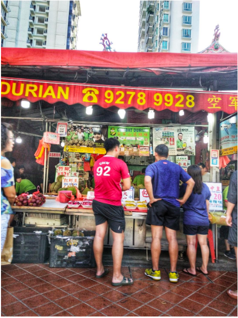 BALESTIER -  Like most durian-sellers in Singapore, Combat sells mangosteens too