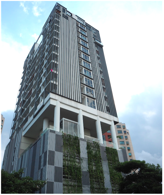 KATONG - Haig 162 is a sleek condominium home to 99 units