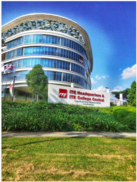 YIO CHU KANG - ITE College Central (pictured) and Nanyang Polytechnic are within walking distance of each other. Both are found within the Yio Chu Kang East sub-zone. Photo credit: Loh Xiu Ruth
