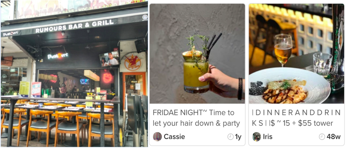 HOLLAND VILLAGE - Rumours' narrow frontage belies its extensive drinks list - EDGEPROP SINGAPORE