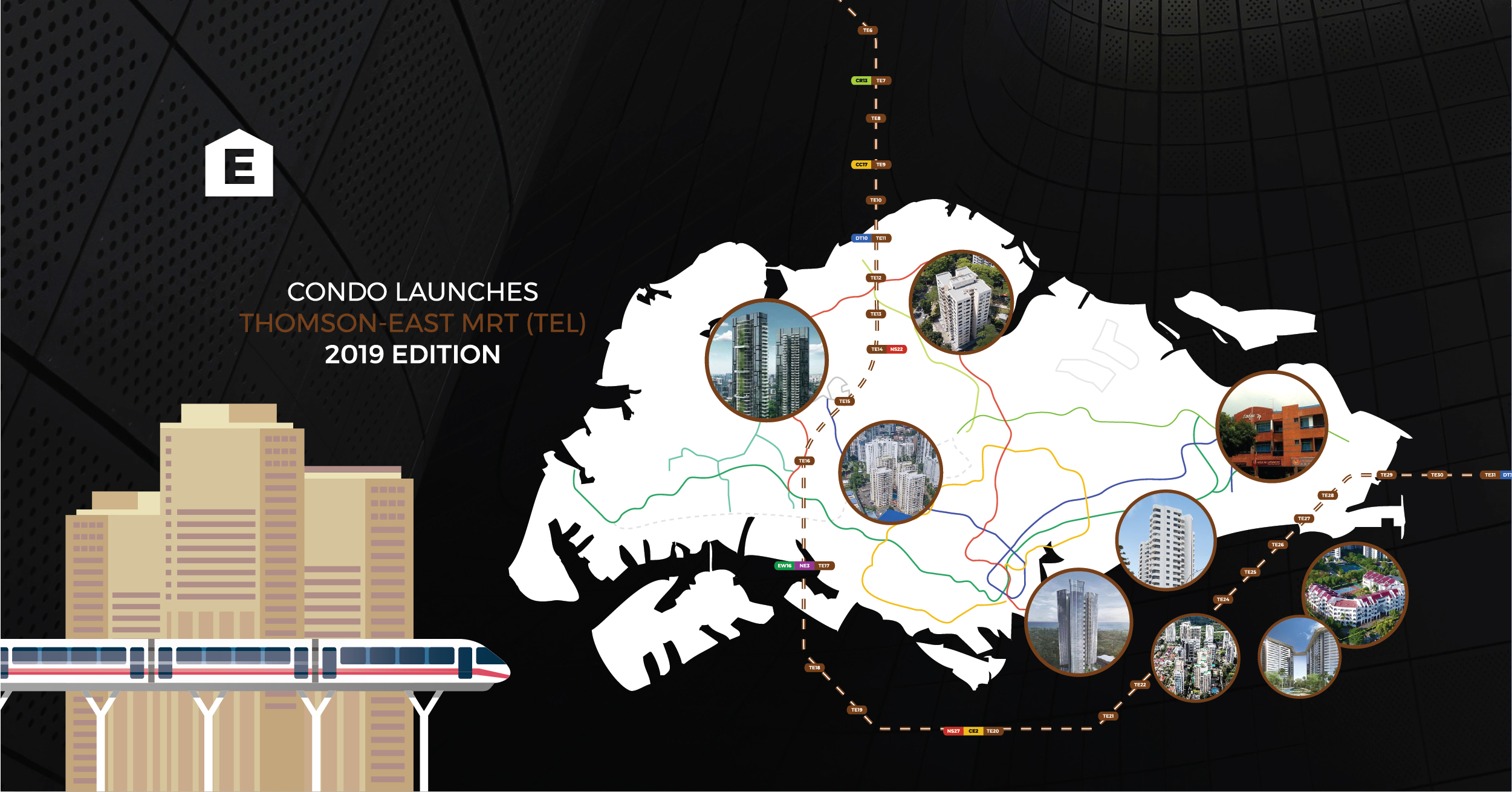 TEL MRT STATION - New Condo Launches within 500m of a Thomas-East Coast Line (TEL) MRT Station: 2019 Edition