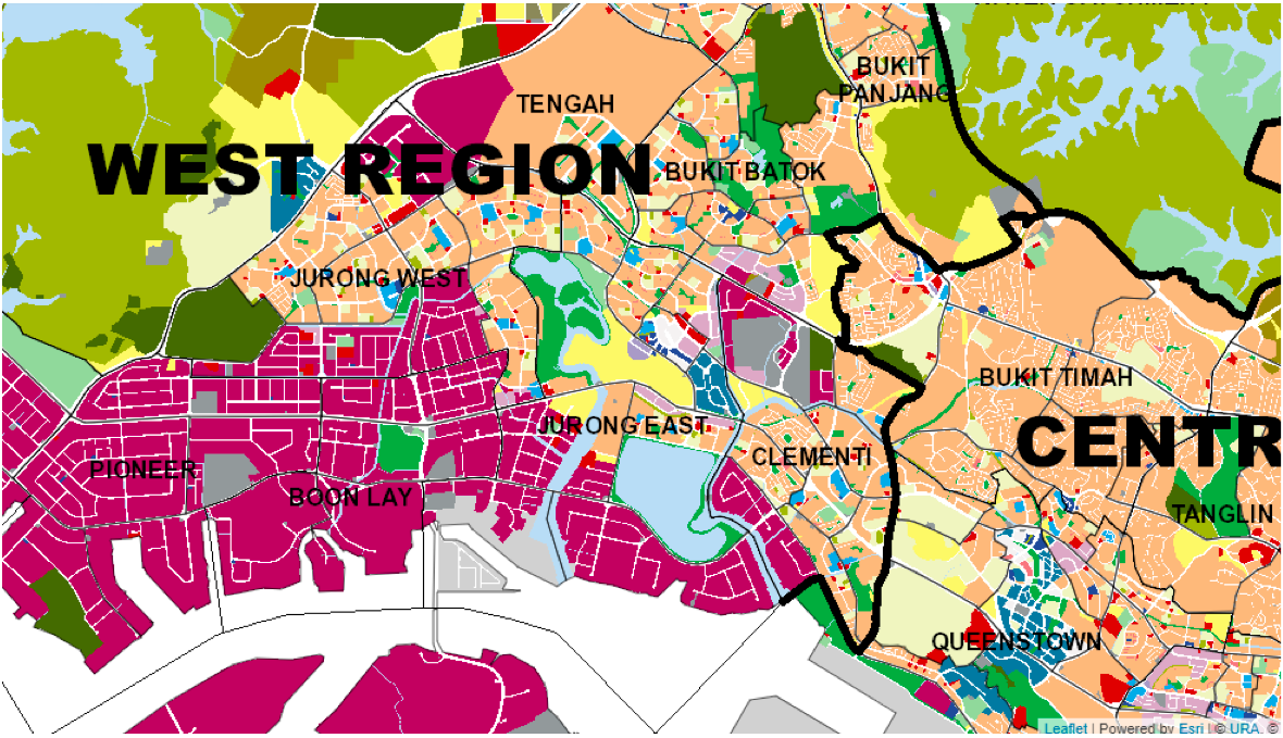 JURONG EAST - Jurong East is adjacent to Clementi and Jurong West