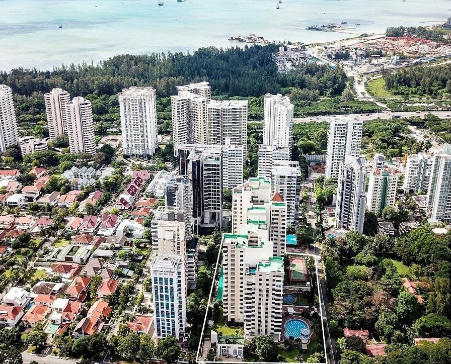 MRT - FORMER KATONG PARK TOWERS
