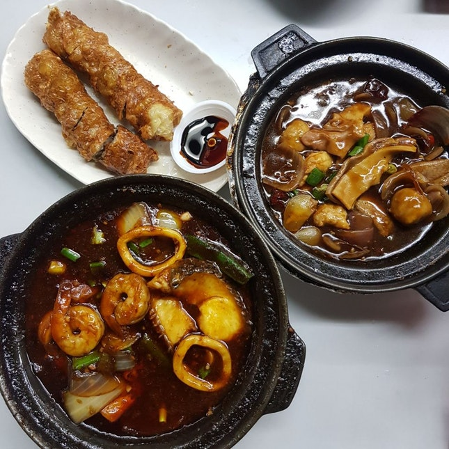 FOOD GUIDE SERANGOON GARDENS - Lau Wang Claypot Delights