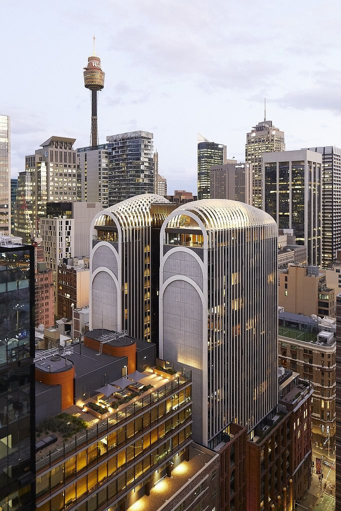 Penthouse at Sydney's Arc by Crown Group sold for A$5.5 mil