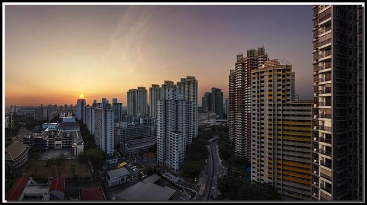 Skyline of Toa Payoh