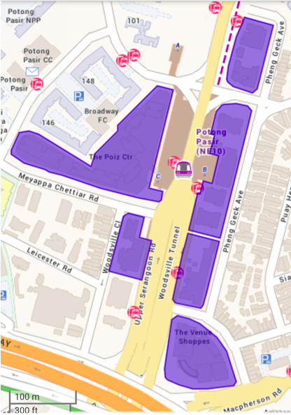 POTONG PASIR - Designated land parcels for non-landed residential and residential-and-commercial uses