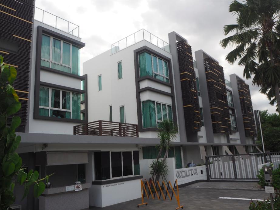 YIO CHU KANG - Cabana on Sunrise Terrace has a distinct, modern look - EDGEPROP SINGAPORE