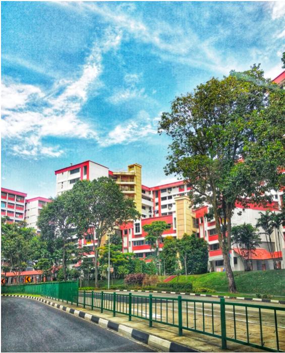 CHOA CHU KANG - Choa Chu Kang has rather distinctive—and also patriotic—red-and-white-brick HDB flats - EDGEPROP SINGAPORE