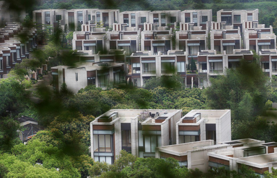 Residential project Valais by Sun Hung Kai Properties in Sheung Shui as of 17 April 2012. Photo: Nora Tam