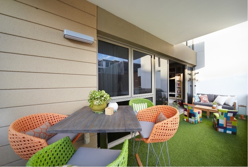 Balcony Design by Free Space Intent