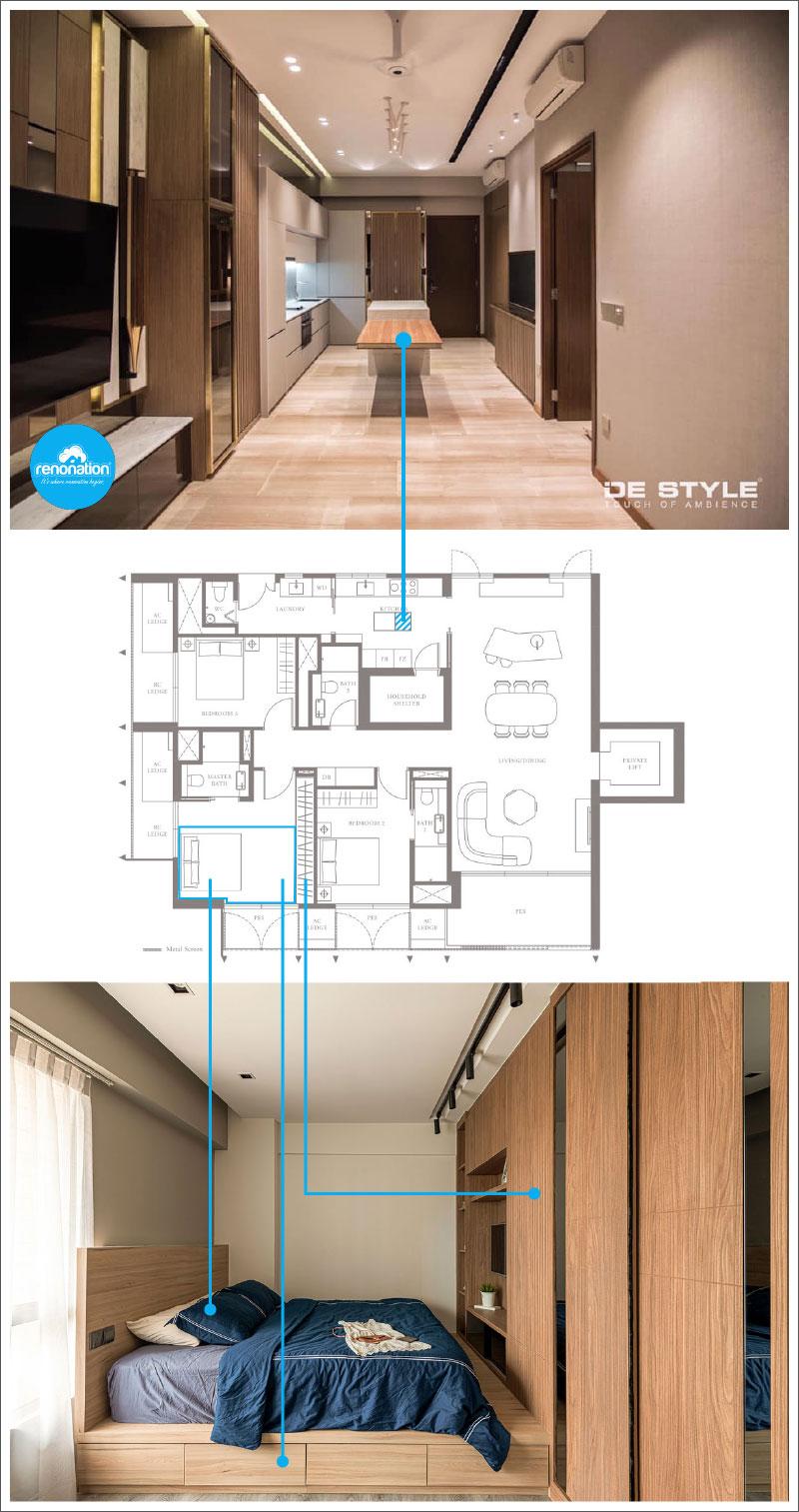 MEYERHOUSE - Designs: De Style Interior and Earth Interior Design